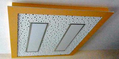 Stuckateur Pfitzenmaier - Trockenbau - Deckenlochplatte