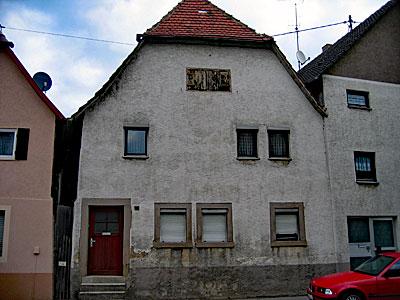 Stuckateur Pfitzenmaier - Fassadensanierung vorher