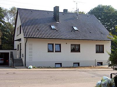 Stuckateur Pfitzenmaier - Fassadensanierung - Farbgestaltung 1 nachher