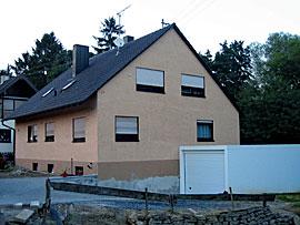 Stuckateur Pfitzenmaier - Fassadensanierung - Farbgestaltung 2 vorher