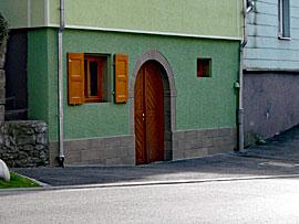 Stuckateur Pfitzenmaier - Fassadensanierung - Farbgestaltung 3 Detailansicht