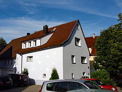 Stuckateur Pfitzenmaier - Fassadensanierung - Putzgestaltung Draufsicht